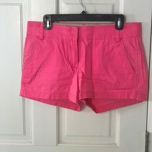 JCrew Pink Broken In Chino Shorts